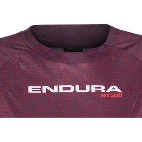 Endura MT500 Print II Trikot Langarm Damen mulberry